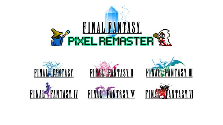 The first three Final Fantasy remasters are coming to Android this month