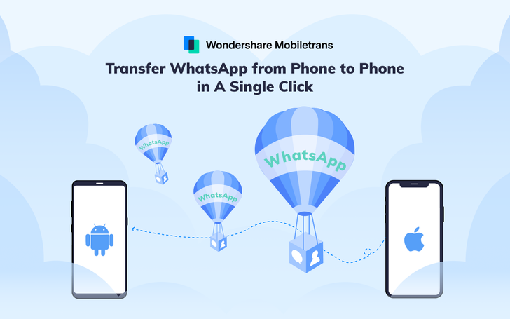 Easily transfer WhatsApp data between phones with these apps by Wondershare