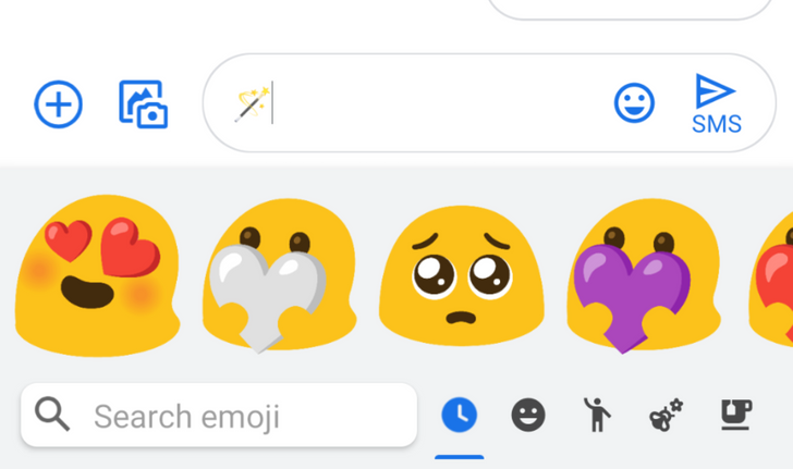 The blobs are back in the latest Emoji Kitchen update, together with contextual recommendations