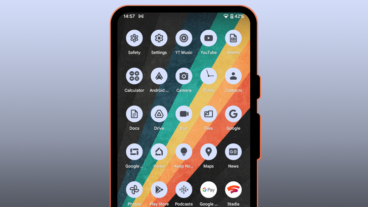 Google extends Material You's dynamic app icon themes to more of its apps in Android 12 Beta 3