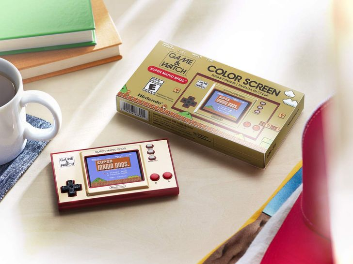 The Super Mario Bros. Game & Watch is still available and cheaper than ever