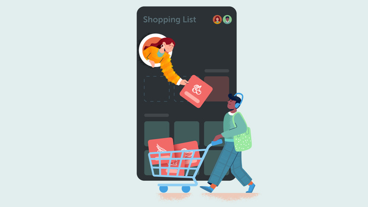 Now that Out of Milk is under new management, Bring is the best grocery list app