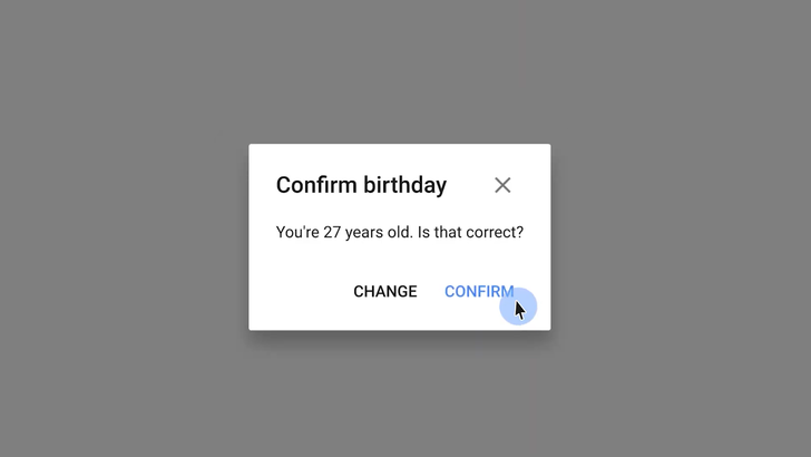 Here's why YouTube's bugging you about your age