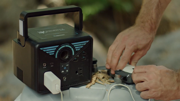 Save $40 off this compact portable power station with enough juice for all your devices