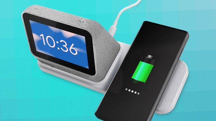 Lenovo makes the Smart Clock 2 and its wireless charging add-on official