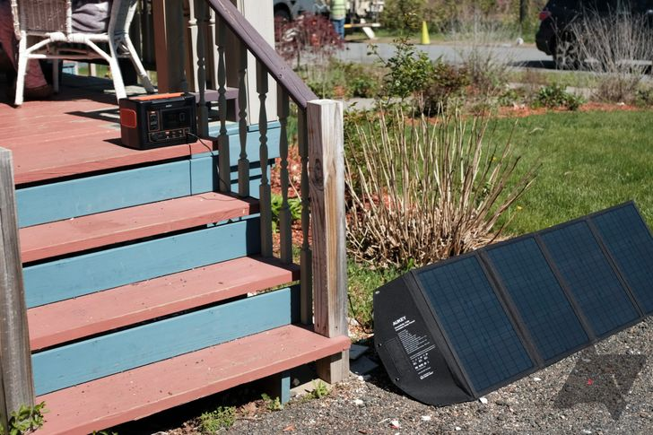 Review: Aukey's portable generator and solar panel saved me during a power outage