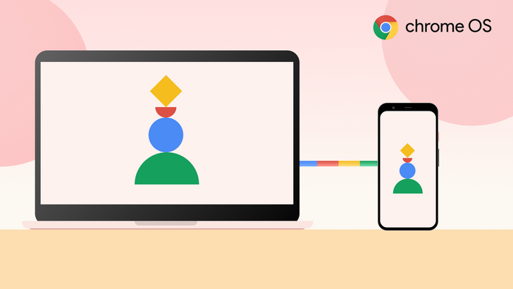 Google's working on letting you mirror your phone screen to Chromebooks