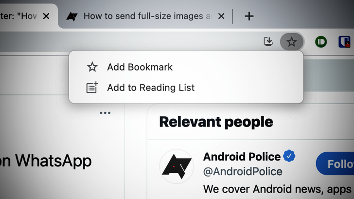 Chrome realizes it ruined bookmarking, wants to make it easy again