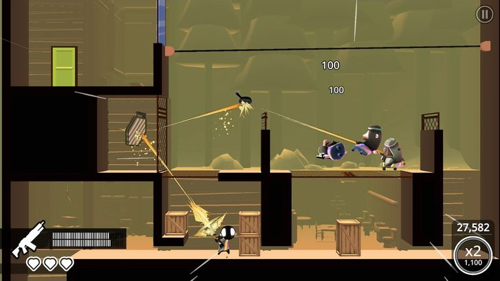 My Friend Pedro lands on Android as a slingshot-based platformer, and it's pretty good