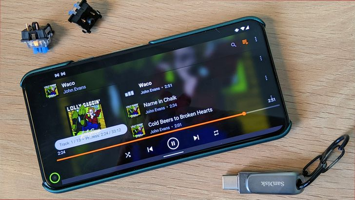 The latest VLC beta freshens up the audio player interface