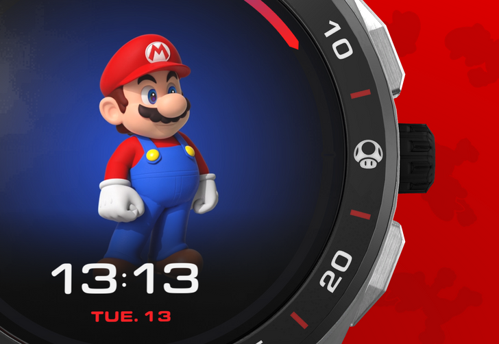 Who wants to buy a $2,000 Super Mario-themed Wear OS watch?