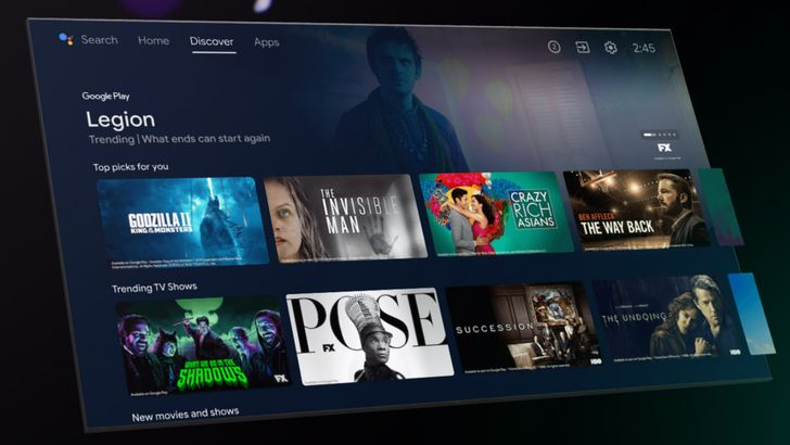 The Android TV interface gets a long-overdue 4K upgrade