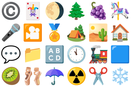 Some new Noto emoji