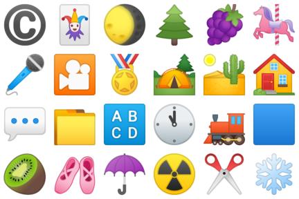Some old Noto Emoji