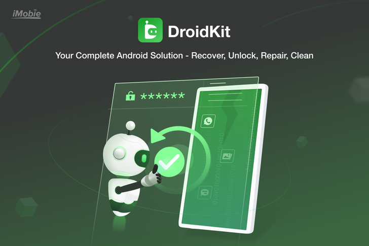 Recover your lost or deleted files with DroidKit, available to try for free today