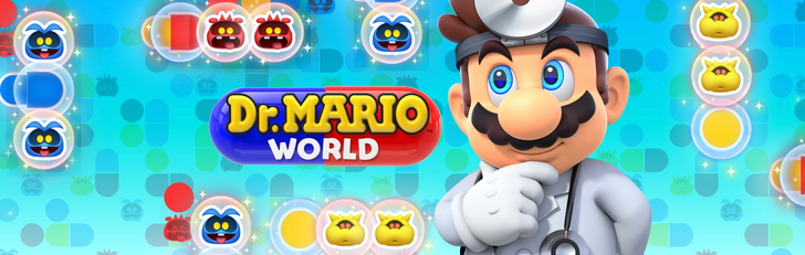 Dr. Mario's about to lose his medical license