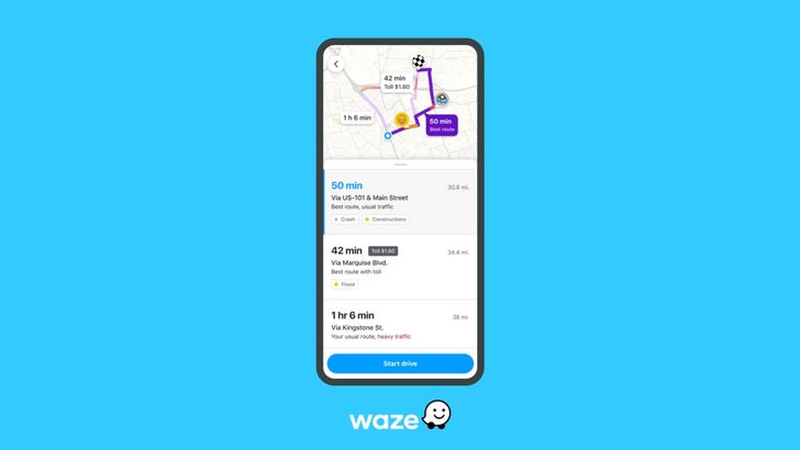 Waze's new pre-drive display shows all the crap you want to avoid on your morning commute