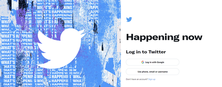 You can finally sign into Twitter with a Google account