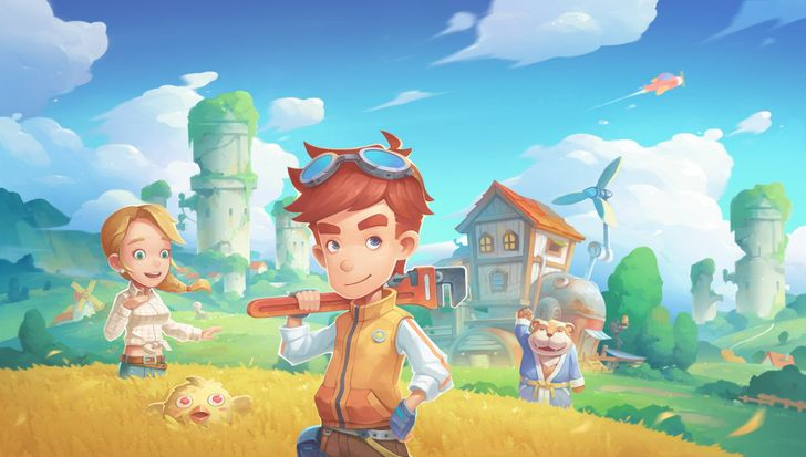 My Time at Portia is basically 3D Stardew Valley, and the Android port is solid