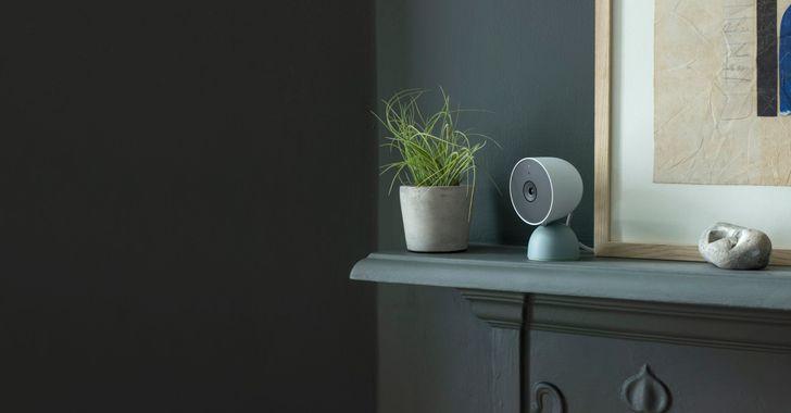 A nova câmera Nest com fio do Google aparece no início do app Google Home