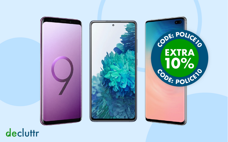 Lock in the top resale value for your old phone with Decluttr now that Samsung preorders are live