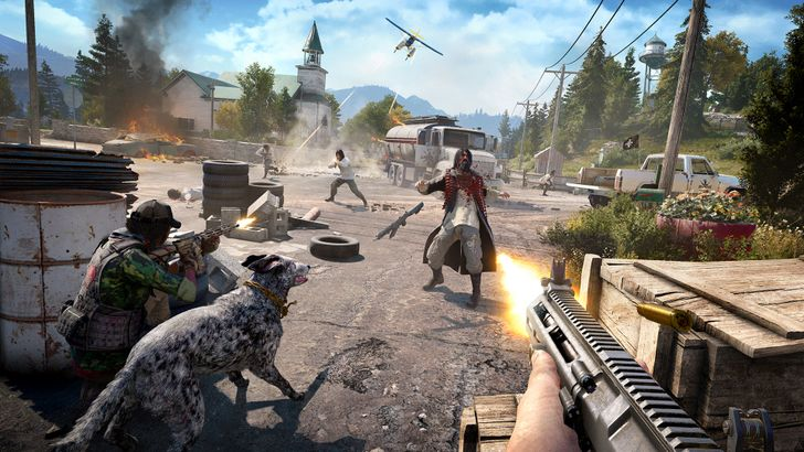 Blast through Far Cry 5's campaign for free this weekend on Stadia Pro