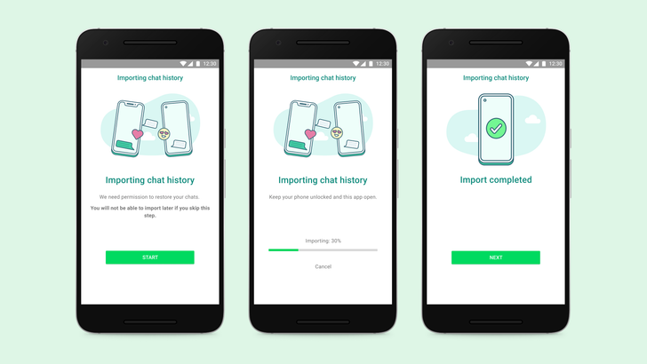 WhatsApp's iOS-to-Android transfer tool is live, but only for Samsung phones