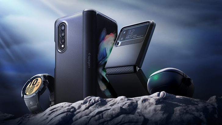 Serve, protect, and look damn good doing it: Spigen cases are ready to defend Samsung's most advanced gear yet