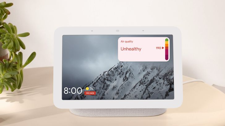 The world is burning, and the Nest Hub is here to watch