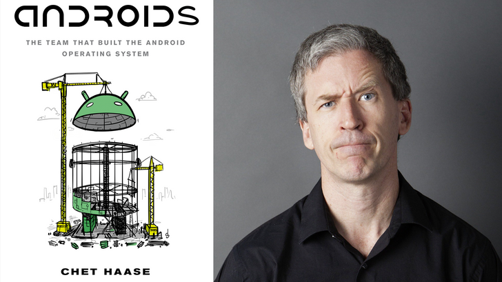 'Androids' by Chet Haase is on sale now, and you can get started reading for free