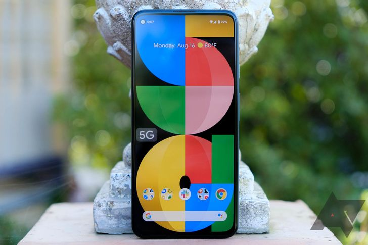 Factory and OTA images for Pixel 5a now available