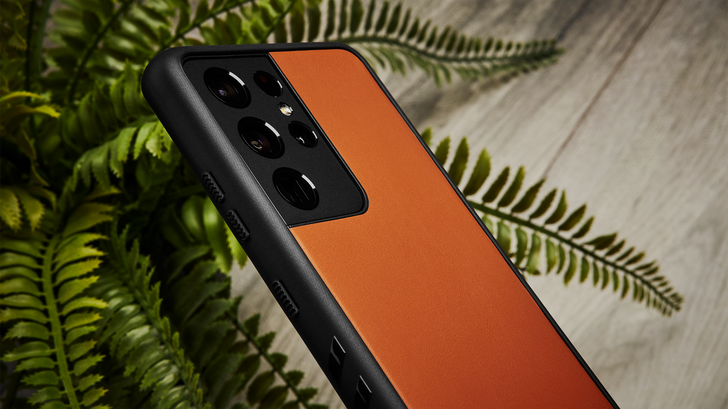 dbrand's going to dress your gadgets up in honest-to-god leather, coming this fall