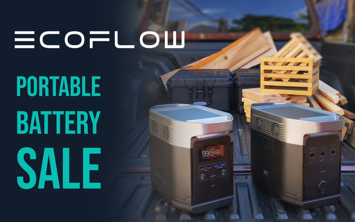 EcoFlow's portable power solutions are great for camping, hiking, or natural disasters, and they're now up to $249 off