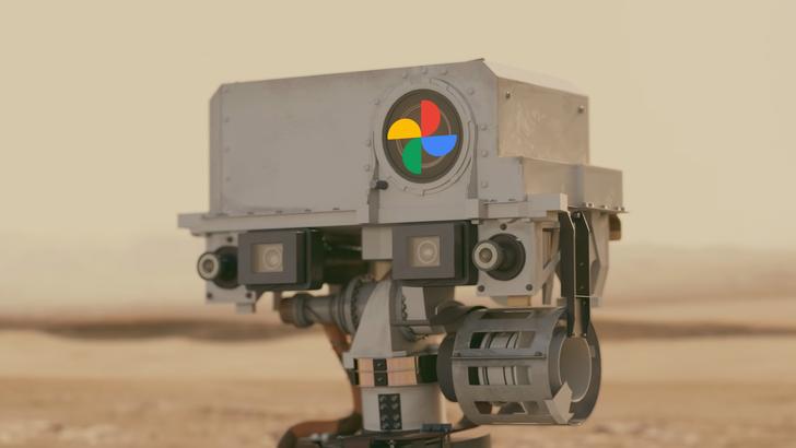 Google Photos gives the Mars rover a trip down Memories lane