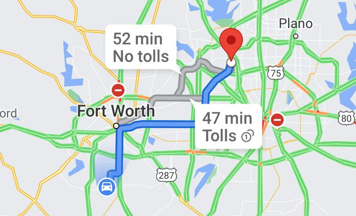 Google Maps can finally show how much your toll will cost