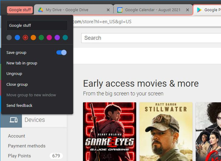 Google's upgrading Chrome Tab Groups with the ability to save them for later