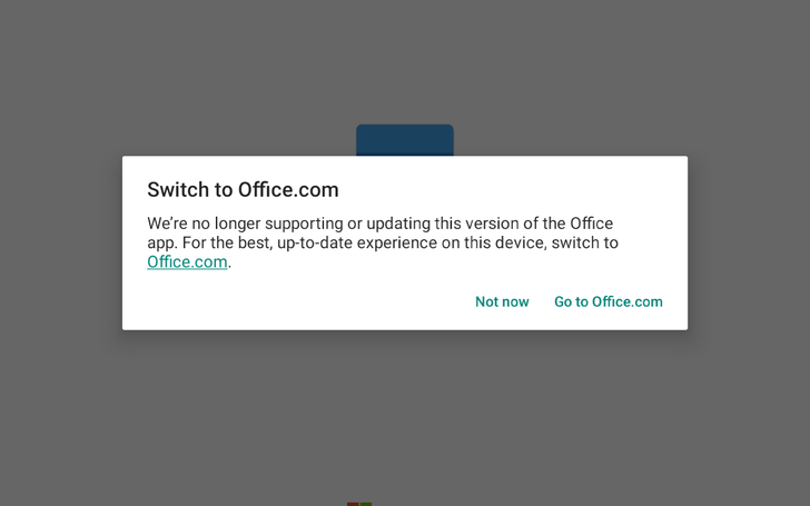 Microsoft is ending support for Android Office apps on Chromebooks