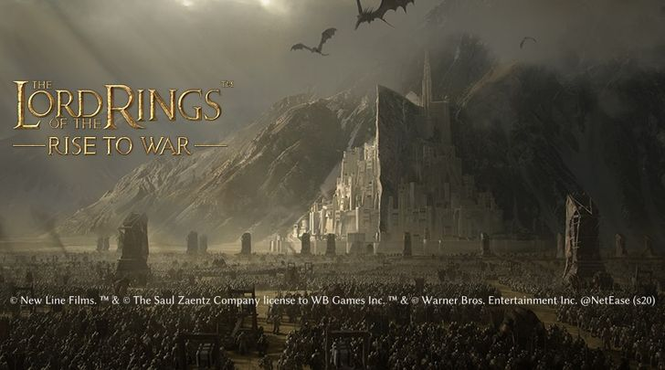 The Lord of the Rings: Rise to War is a new kingdom builder from NetEase, now available for pre-registration