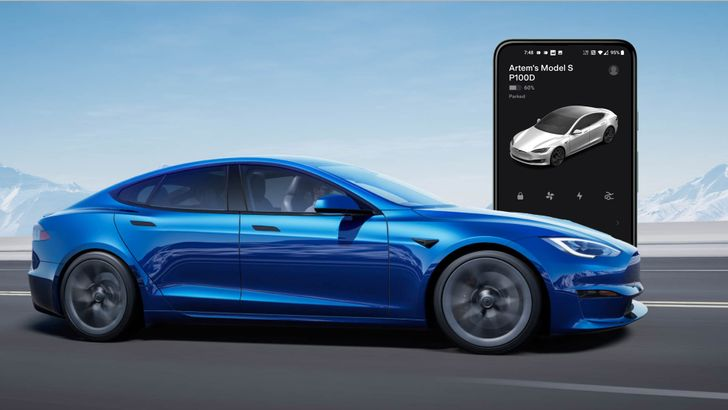 Huge Tesla v4 app update brings all you futurists new controls for your increasingly electric existence