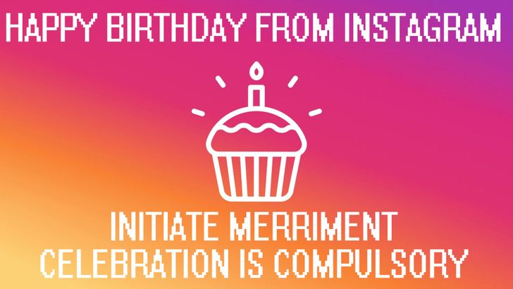 Instagram pretends it doesn't already know when your birthday is