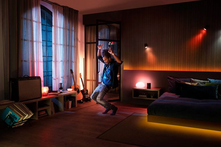 Philips Hue's new Spotify integration turns your home into the best nightclub in town
