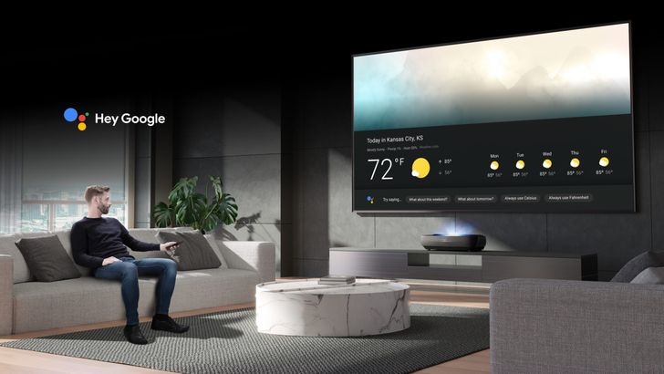 This new super high-end Android TV laser projector has a super high price too