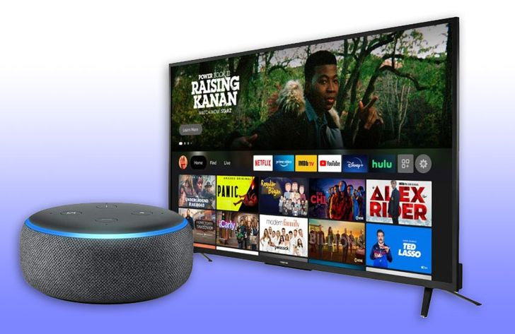 Get a 55-inch 4K Toshiba Fire TV and a free Echo Dot speaker for just $380