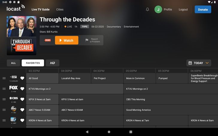 Local TV re-streaming service Locast shut down by network lawsuit