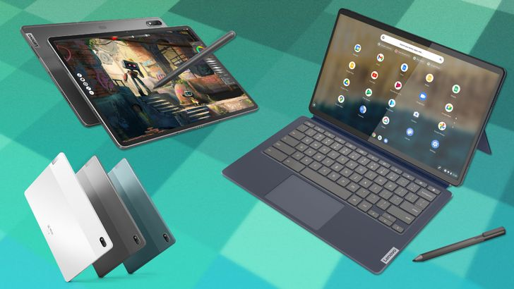 Lenovo announces an OLED upgrade for the Chromebook Duet and an iPad Pro alternative