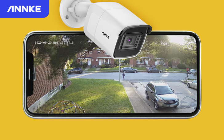 Last day to enter: Win one of 5 ANNKE C800 bullet outdoor security cameras (US, CA, UK, AU, NZ)