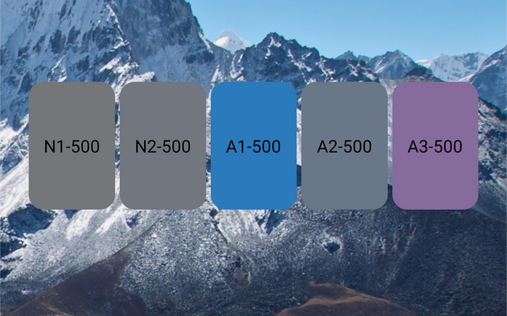 Android 12 follows up on its last Easter egg with a new Paint Chip widget