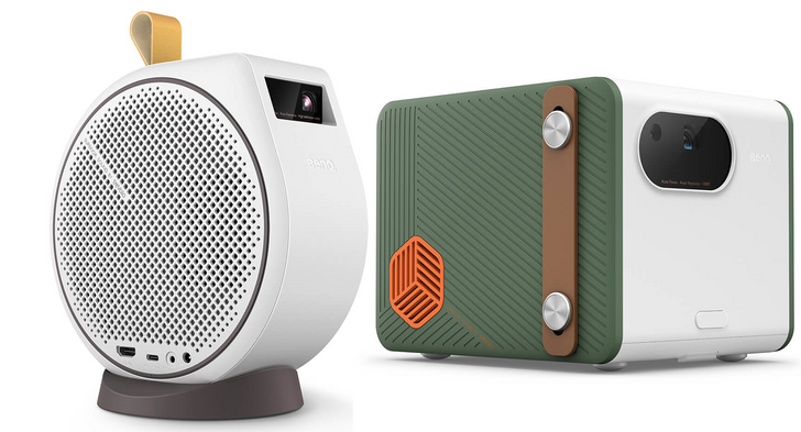 BenQ's new portable projectors have Android TV and 2.1 channel audio built right in