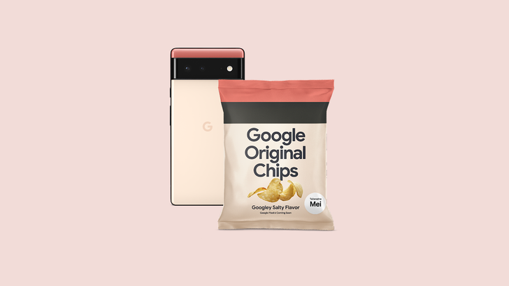 Google's new chip design goes great with a club sandwich
