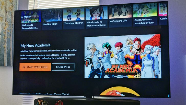 Crunchyroll's library of anime has been added to Google TV search